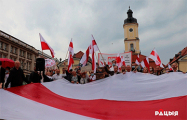 Акцыя «Салідарныя з Беларуссю» прайшла ў Беластоку