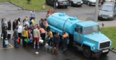 Студенты БНТУ остались без воды (Фото)