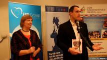 Павел Северинец представил свою книгу в Праге