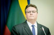 Линас Линкявичюс: Ничто не заставит нас закрыть глаза на агрессию России