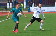 В Бресте на матче «Рух» - «Торпедо-БелАЗ» скандировали «Жыве Беларусь!»