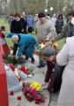 Память репрессированных почтили под бело-красно-белыми флагами