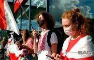 В Вильнюсе прошел пикет в поддержку активистов «Европейской Беларуси» и Павла Северинца