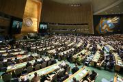 Делегация Украины покинула зал ГА ООН после начала выступления Путина