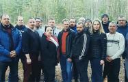 Бастующие работники «Нафтана» поддержали своих коллег