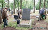 На Военном кладбище в Минске задержали троих волонтеров