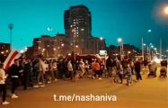 Минчане вышли на партизанское шествие
