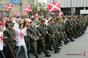 Русские националисты провели марш в Могилеве