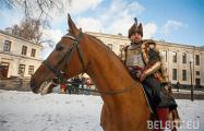 Гусары времен Стефана Батория побывали в Гродненском замке