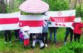 Минский Восток вышел на акцию солидарности с героями Беларуси