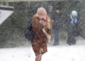 На Беларусь идет еще один снежный шторм