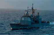 США отправили в Черном море ракетный крейсер