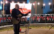 Лявон Вольский выступил перед революционным двором в Минске