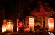 В Гродно восстановили мемориал Роману Бондаренко на месте Фары Витовта