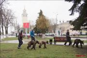 По улицам Гомеля водили медведей