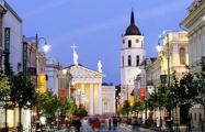 Вильнюс бесплатно предоставит площади под уличные кафе