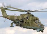 Два российских вертолета Ми-24 нарушили границу Украины