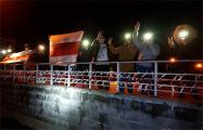 Брилевичи и Грушевка вышли на вечерний протест