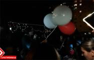 В Боровлянах местные жители организовали концерт и фаер-шоу