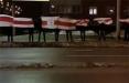 Утро в гродненской Ольшанке началось с акции протеста