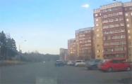 Видеофакт: Над российским Красноярском пролетел огненный шар, похожий на метеорит