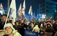 В Венгрии продолжаются протесты против политика Орбана