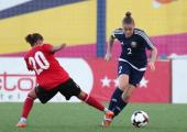 Женская футбольная сборная Беларуси одолела Албанию