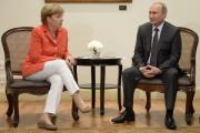 Путин обсудил с Меркель подготовку к форуму АСЕМ