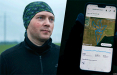 Как бегун создает послания для белорусов