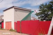 Жительница Борисова вывесила флаг РФ над своим домом