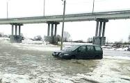 Из-за паводка на Припяти под Житковичами полностью закрыли переправу