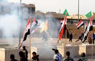 Морпехи США применили слезоточивый газ для защиты посольства в Багдаде