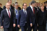 Лидеры стран «нормандской четверки» по телефону обсудили ситуацию на Украине