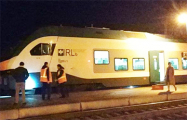 «Было две вспышки»: Из поезда «Минск-Гомель» эвакуируют людей