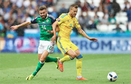 Евро 2016: Украина проиграла Северной Ирландии