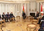 Лукашенко провел переговоры с министрами финансов и транспорта Катара