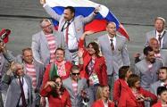 Надежда Кузьмина: Никто наших колясочников не скручивал, и флагов у них не было