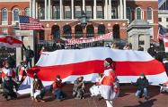 Бостон вышел на грандиозный Марш солидарности с Беларусью