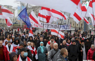 Сильные кадры с новой акции за независимость Беларуси