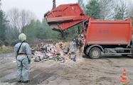 В Минске обнаружили мусоровоз с радиоактивным йодом