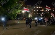 Жители Сухарево вышли на вечерний марш