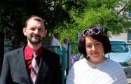 Журналисты Инесса Тодрик-Писальник и Анджей Писальник на свободе