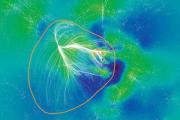 Домом для нашей галактики стало гигантское сверхскопление «Неизмеримые небеса»