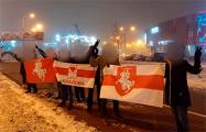 Минчане выстроились в цепи солидарности