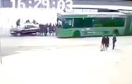 Стали известны подробности инцидента на остановке в Полоцке