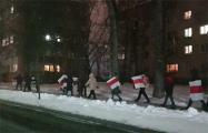 Минчане прошлись маршем по бульвару Шевченко