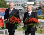 Лукашенко пообещал, что с неведомым врагом он будет бороться «спина к спине» с Россией
