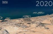 В Google объединили 24 млн спутниковых снимков и показали, как таяли ледники и росли города