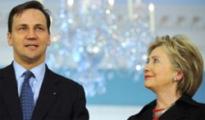 Сикорский и Клинтон обсудили Беларусь
