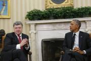Обама и Порошенко скоординировали позиции накануне саммита G7